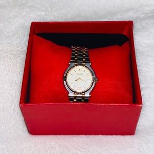 Authentic Vintage two tone Gucci Watch